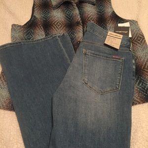 Eddie Bauer slightly curvy fit jeans inseam 31 NWT